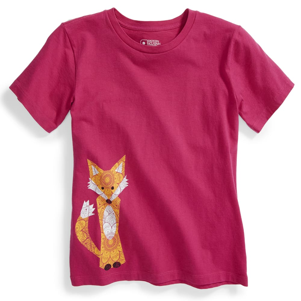 EMS® Kids' Happy Like A Fox Graphic Tee - VIVACIOUS