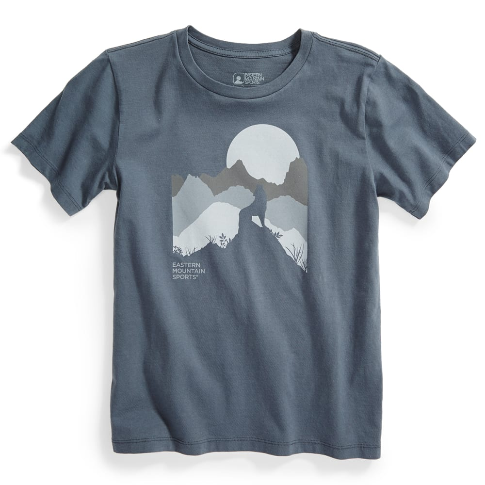 EMS® Kids' Lone Wolf Graphic Tee - TURBULENCE