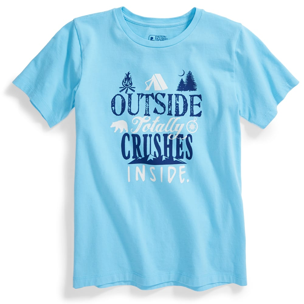 EMS® Kids' Totally Outside Graphic Tee - BLUE GROTTO