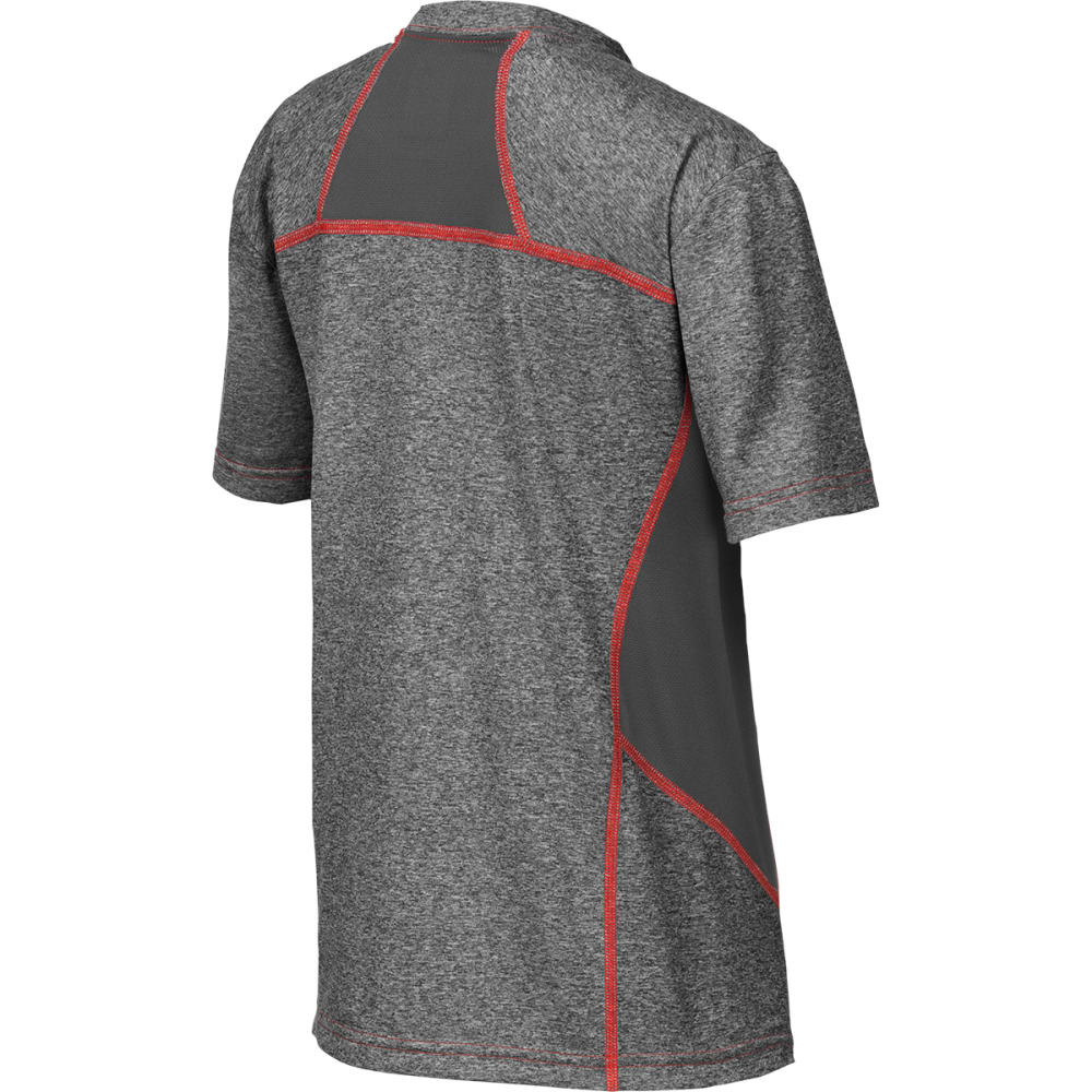 THE NORTH FACE Boys' Reactor Short-Sleeve Tee - MEDIUM GRAY HEATHER