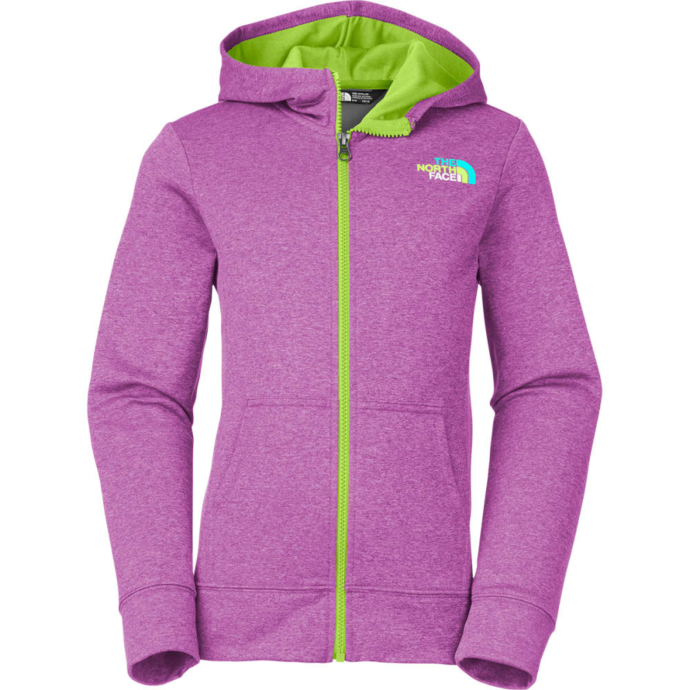 THE NORTH FACE Girls' Full-Zip Surgent Hoodie - VIOLET