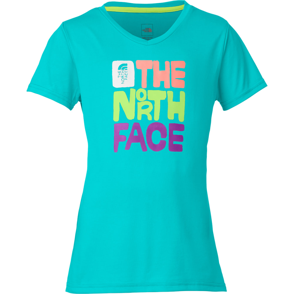 THE NORTH FACE Girls' Reaxion Short-Sleeve Tee XXS