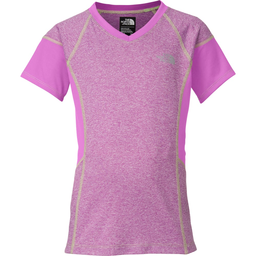 c651e7e11 THE NORTH FACE Girls' Reactor Short-Sleeve Tee