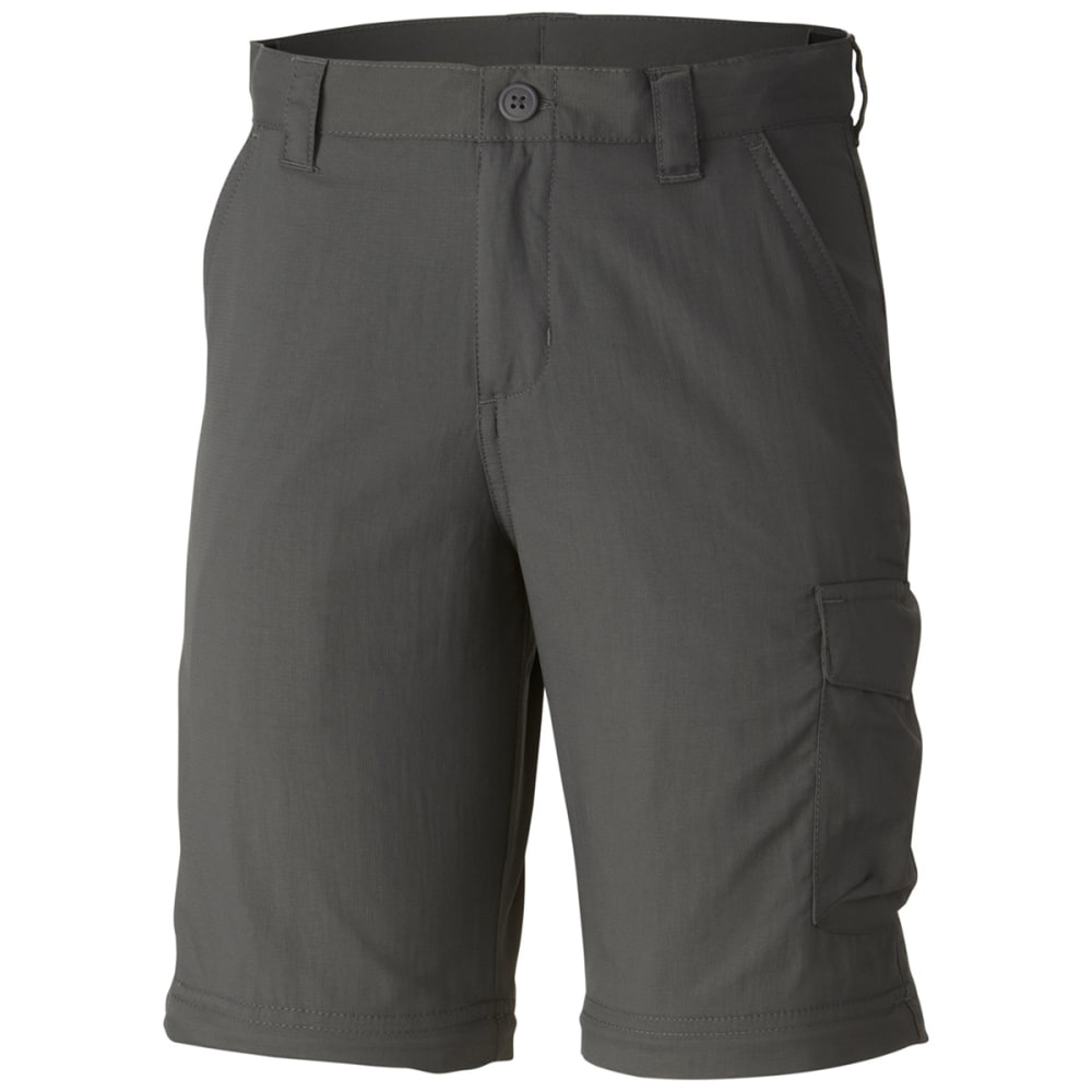 COLUMBIA Boys' Silver Ridge III Convertible Pants - 028-GRILL