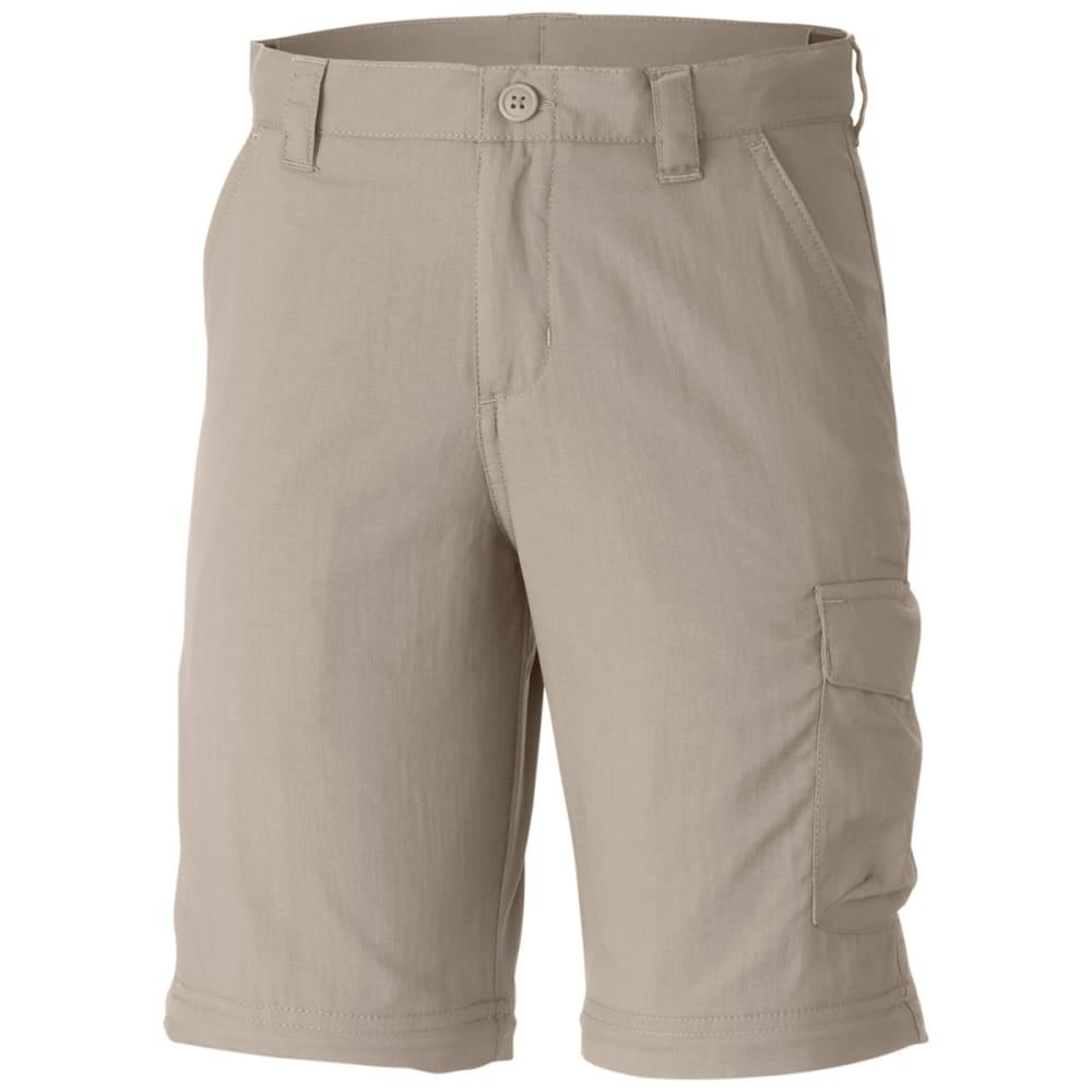COLUMBIA Boys' Silver Ridge III Convertible Pants - 160-FOSSIL