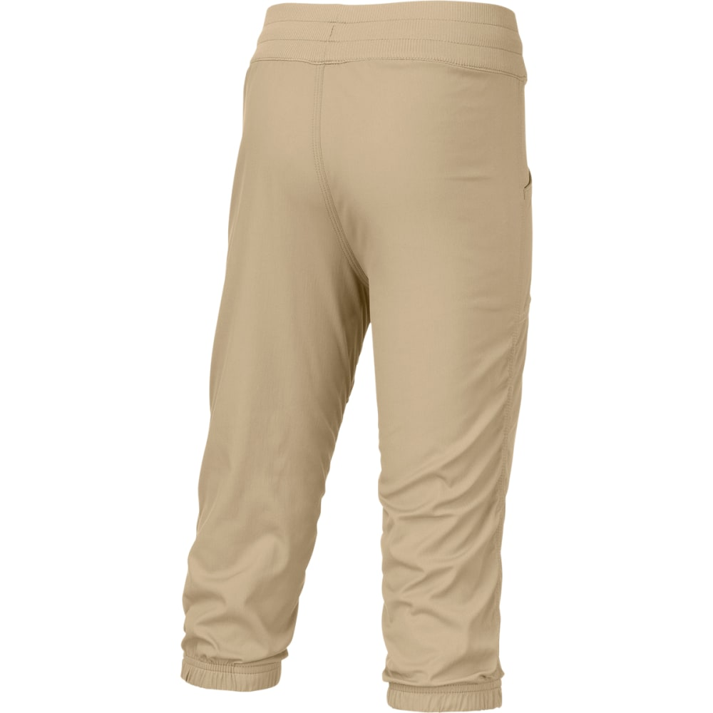 THE NORTH FACE Girls' Aphrodite Capri Pants - DUNE BEIGE
