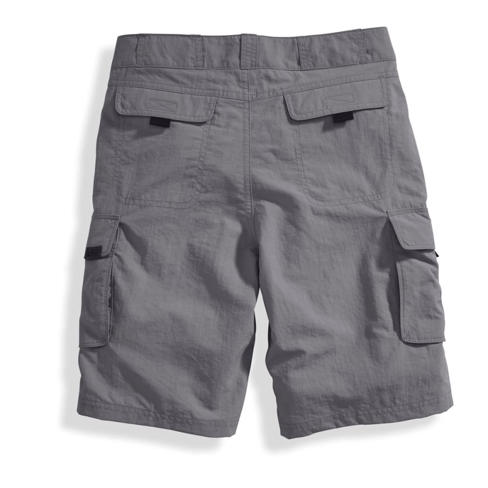 EMS Boys' Camp Cargo Shorts - PEWTER