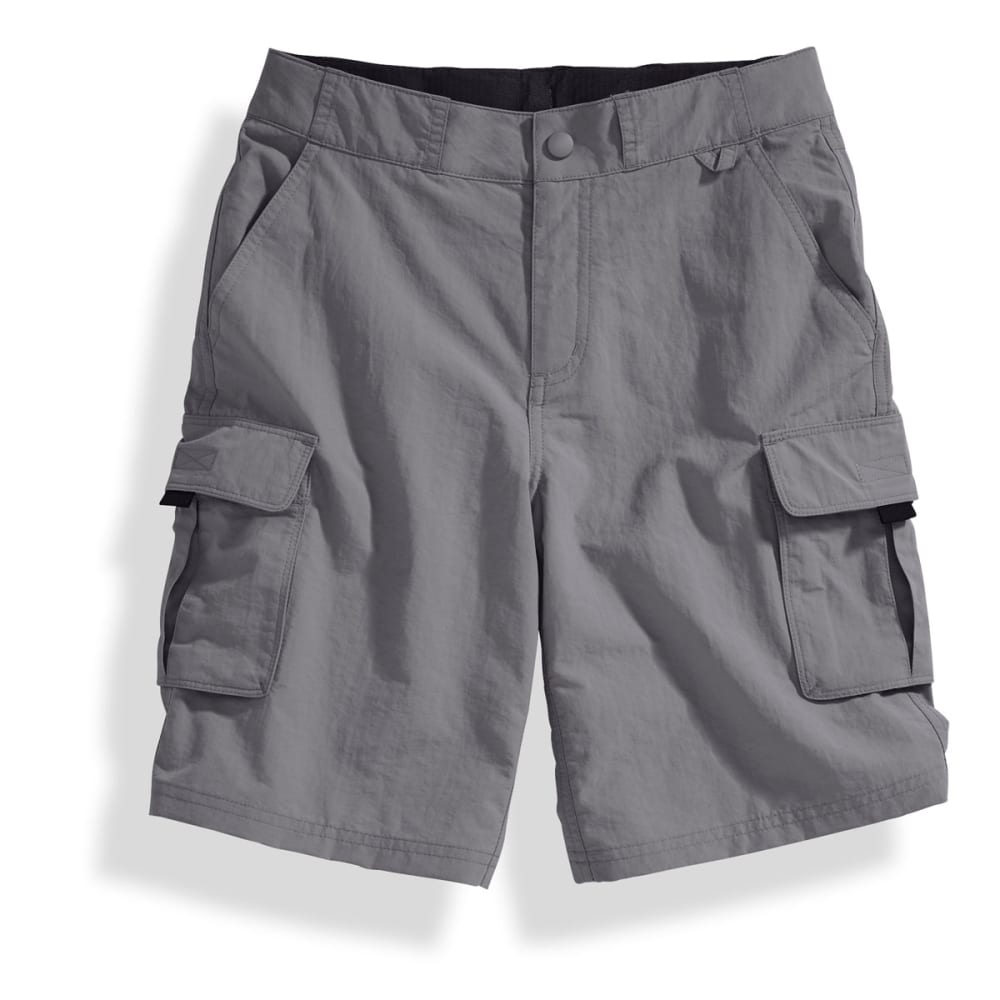 EMS® Boys' Camp Cargo Shorts - PEWTER