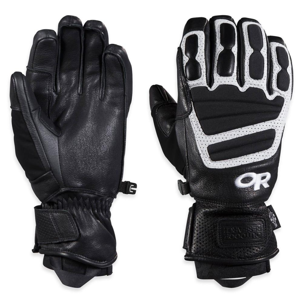 OUTDOOR RESEARCH Men's Mute Sensor Gloves™ - BLACK/WHITE