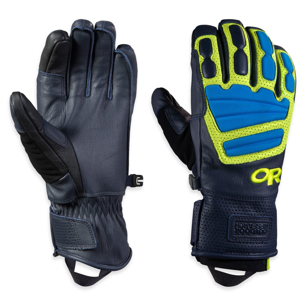 OUTDOOR RESEARCH Men's Mute Sensor Gloves™ - NIGHT/ LEMONGRASS/ H