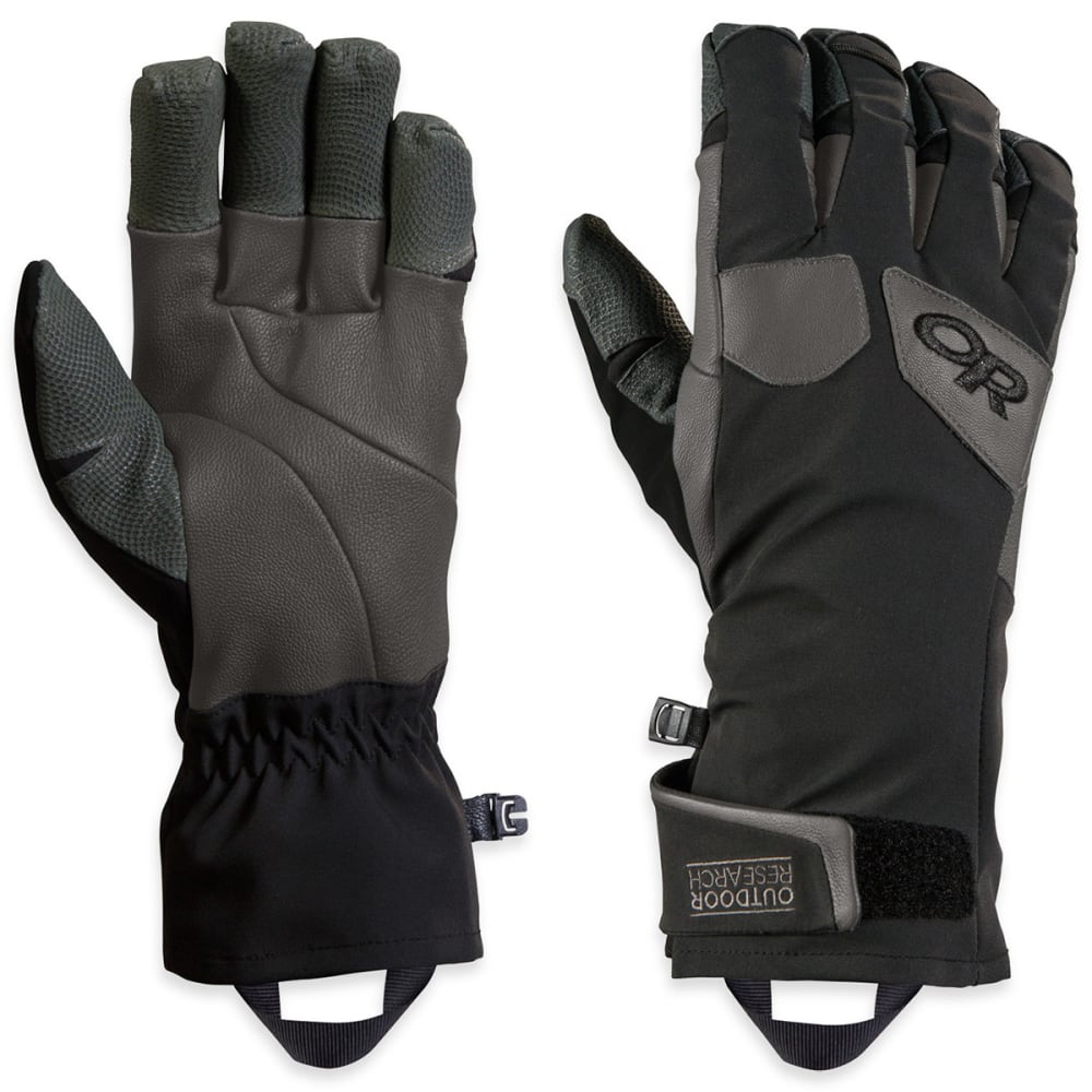 OUTDOOR RESEARCH Men's Extravert Gloves - BLACK/CHARCOAL