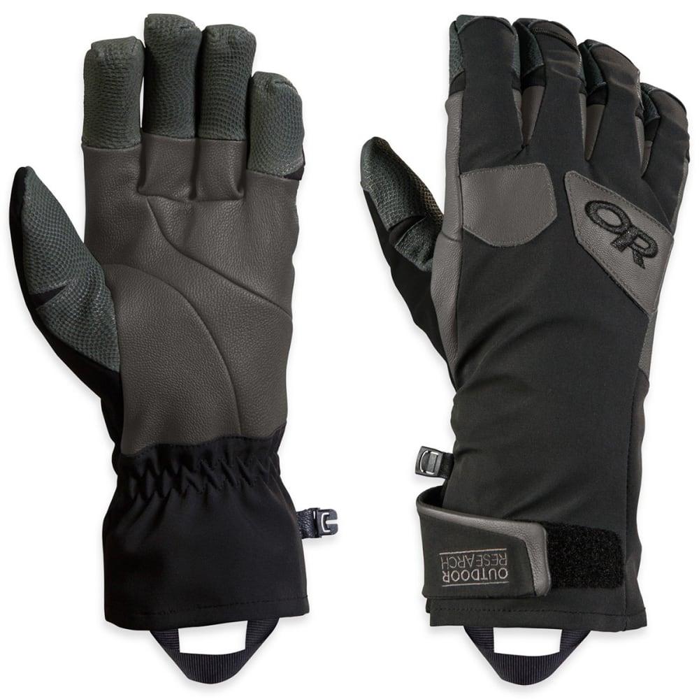 OUTDOOR RESEARCH Men's Extravert Gloves - BLACK/CHARCOAL-0189