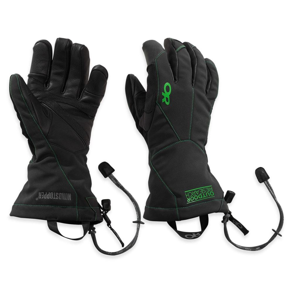 OUTDOOR RESEARCH Men's Luminary Sensor Gloves™ - BLACK/ FLASH
