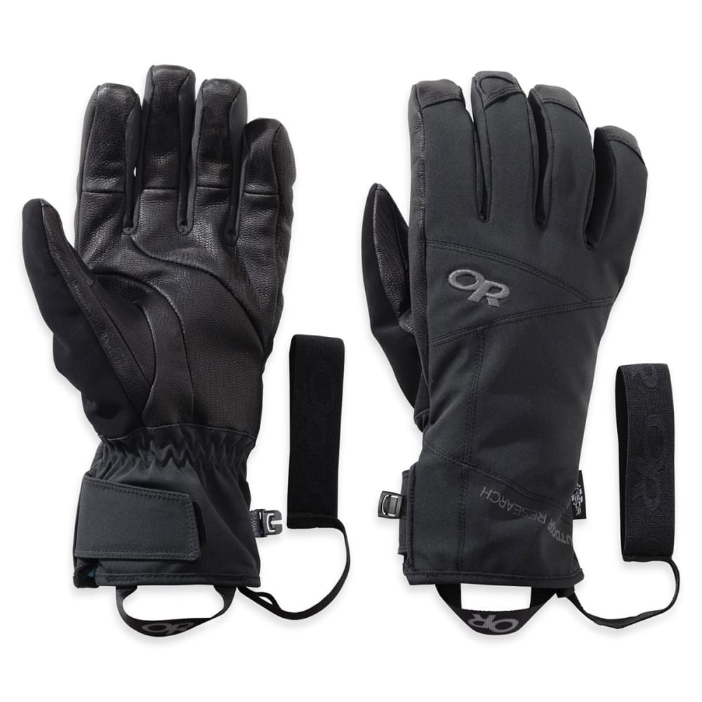 OUTDOOR RESEARCH Men's Illuminator Sensor Gloves™ - BLACK