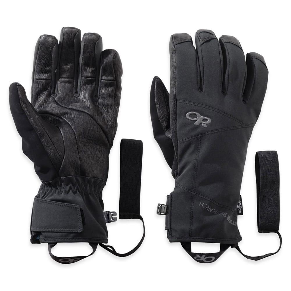 OUTDOOR RESEARCH Men's Illuminator Sensor Gloves - BLACK