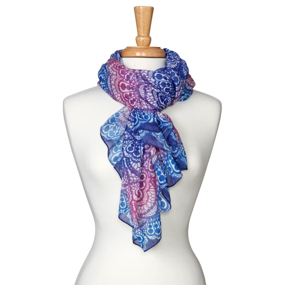PRANA Women's Lacey Scarf - ULTRA VIOLET