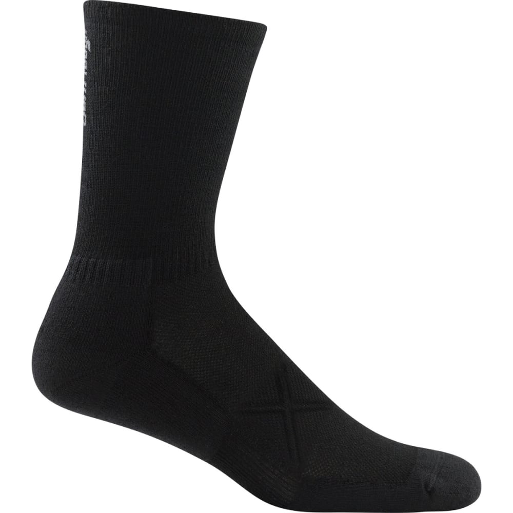 DARN TOUGH Men's Coolmax Vertex Micro Crew Ultra-Light Cushion Socks - BLACK