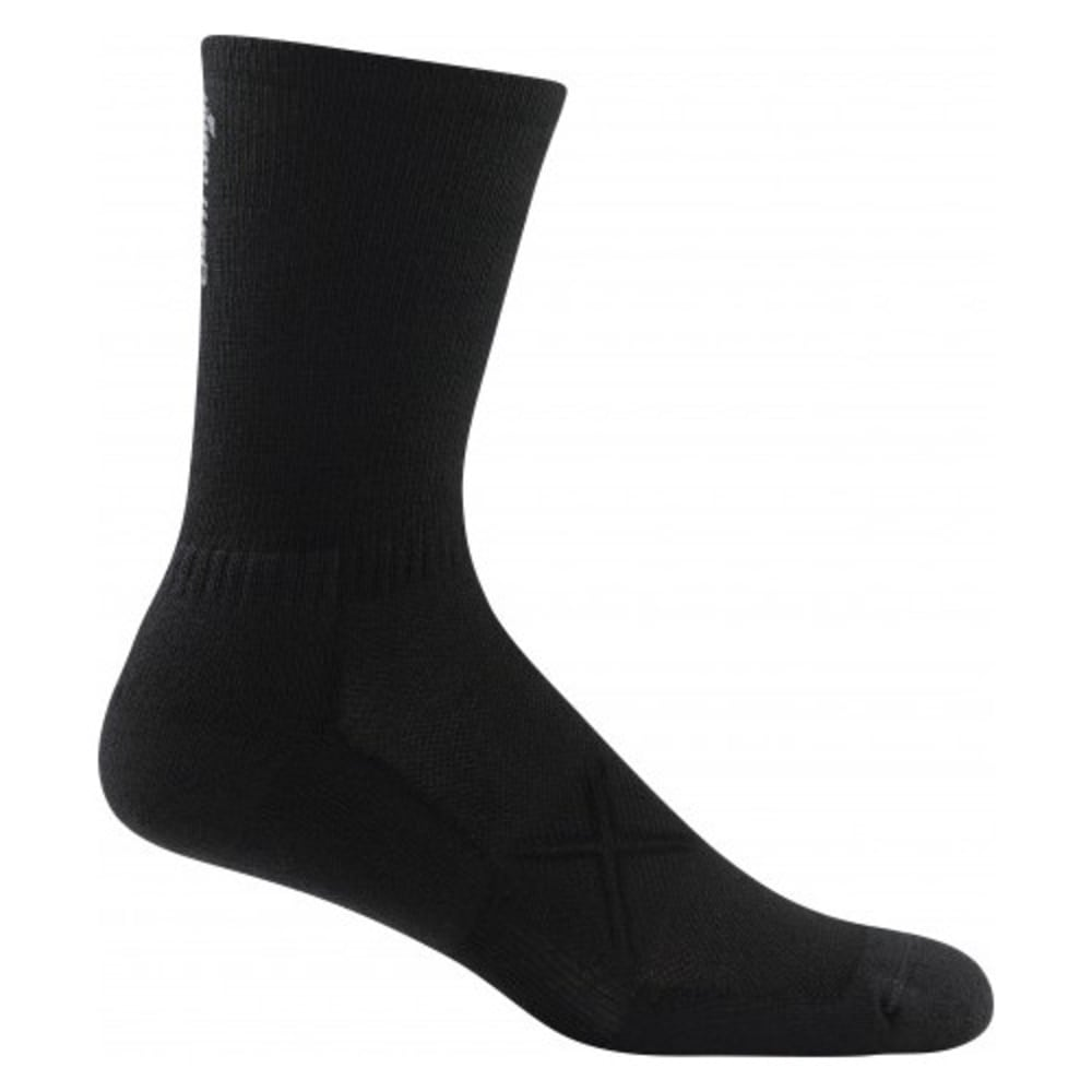 DARN TOUGH Men's Vertex Micro Crew Ultra-Light Cushioned Socks - BLACK