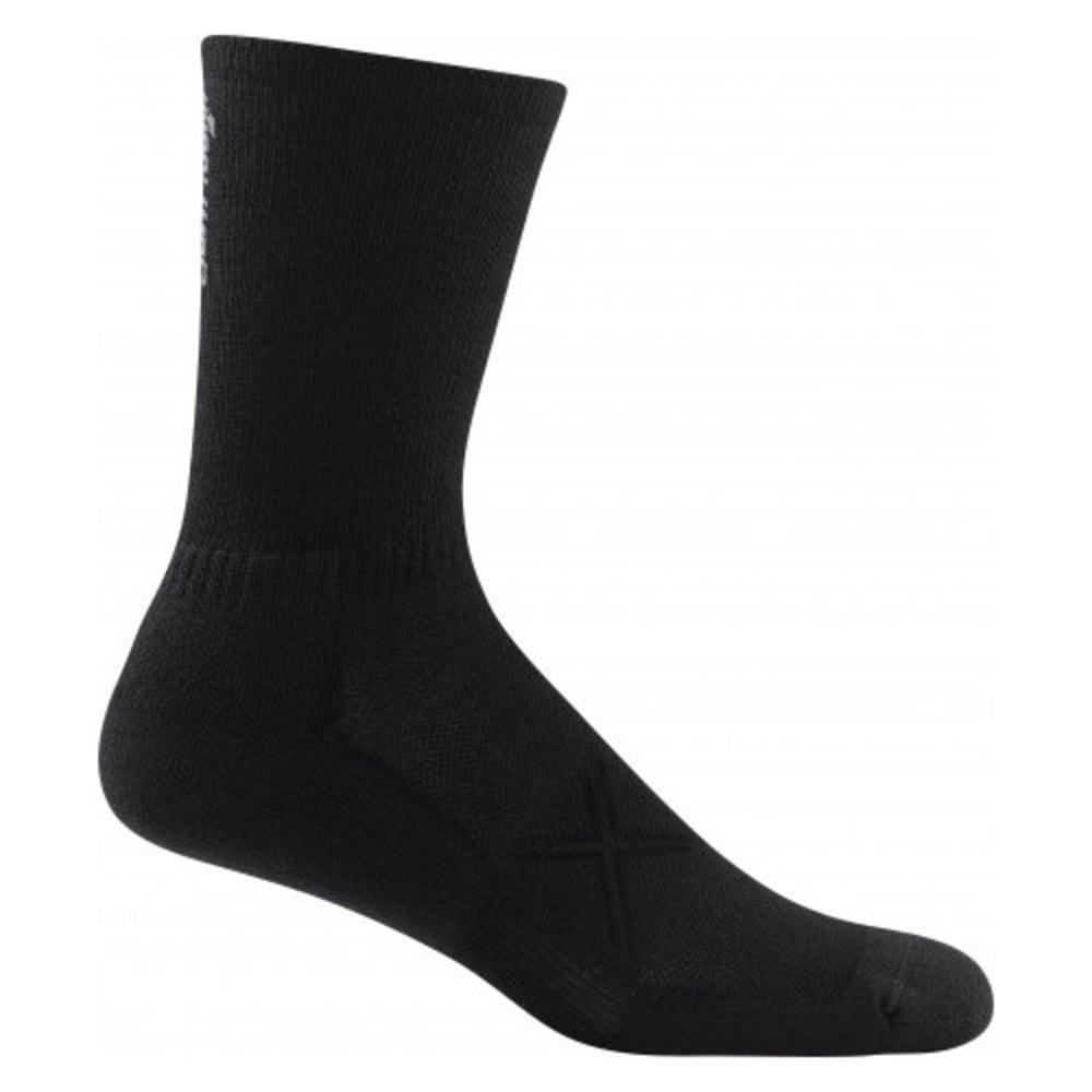 DARN TOUGH Men's Vertex Micro Crew Ultra-Light Cushioned Socks - BLACK