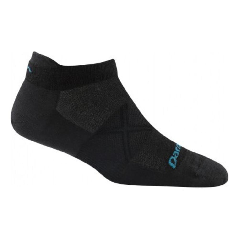 DARN TOUGH Women's Vertex Coolmax® No Show Ultra-Light Cushion Socks - BLACK