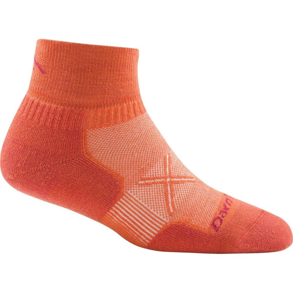 DARN TOUGH Women's Vertex 1/4 Ultra-Light Cushioned Socks - CORAL