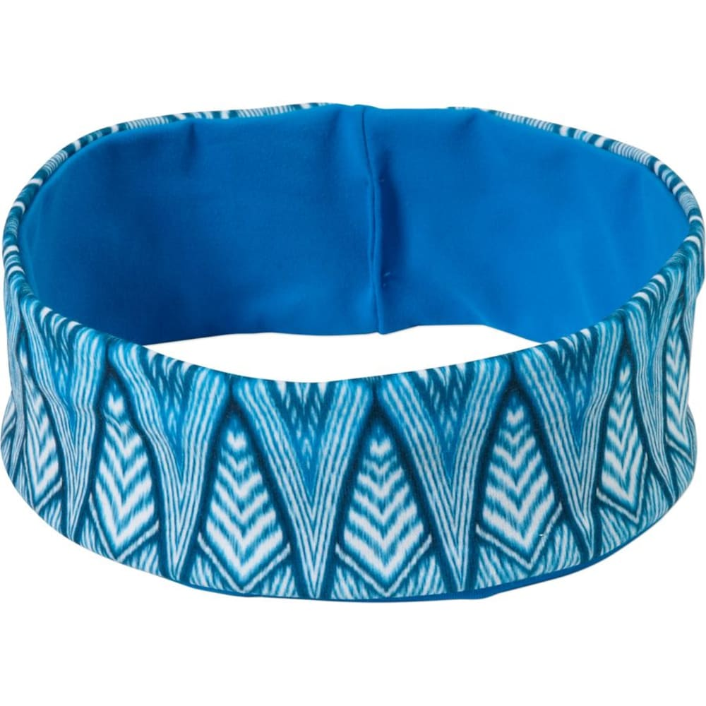 PRANA Women's Reversible Headband - BLUE