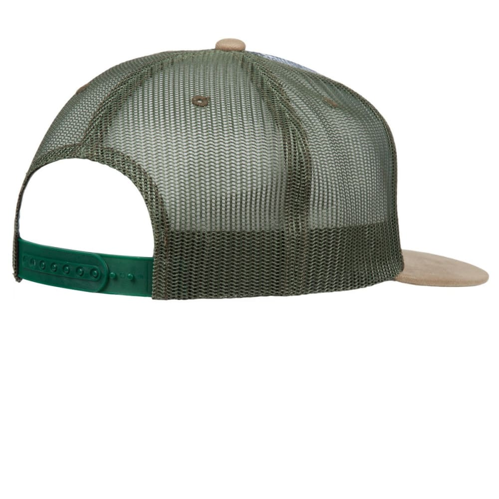 PRANA Journeyman Trucker Hat - DARK KHAKI