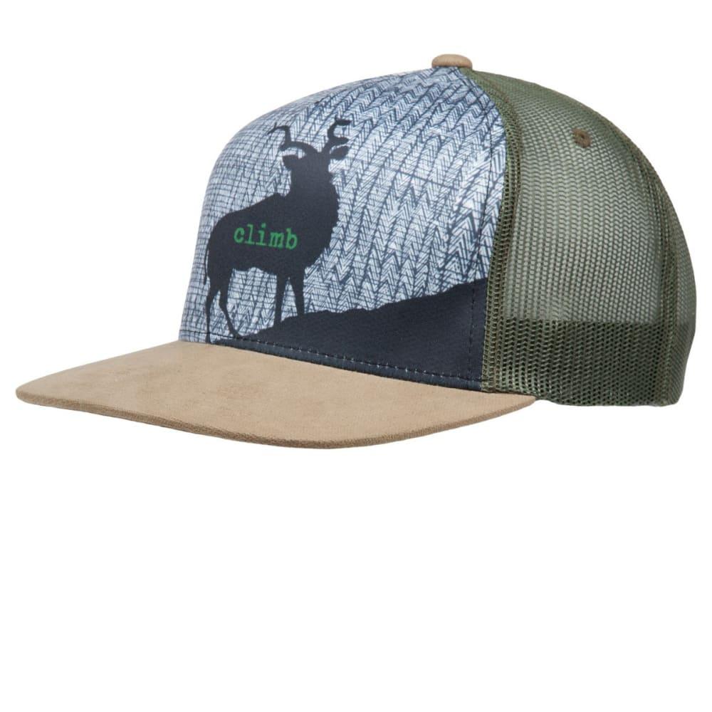 PRANA Journeyman Trucker Hat - DARK KHAKI
