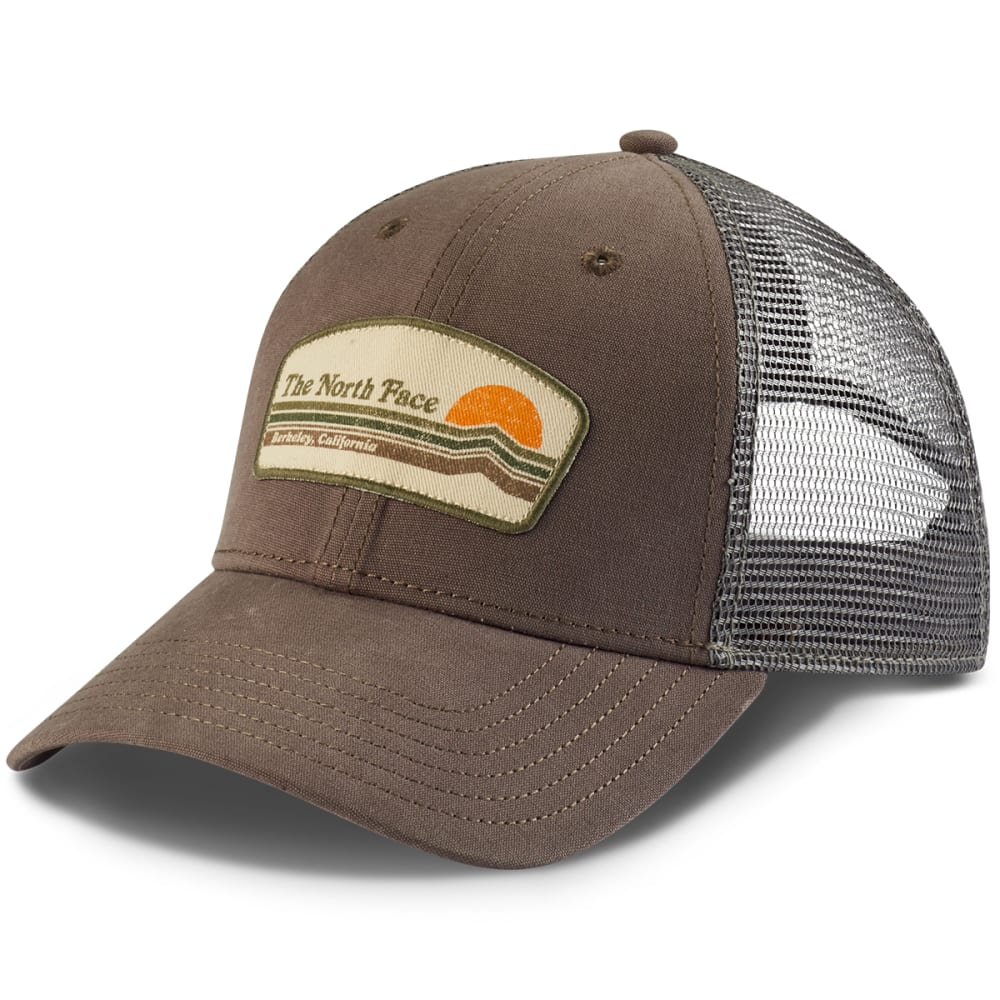 THE NORTH FACE Patches Trucker Hat - FALCON BROWN-NXL