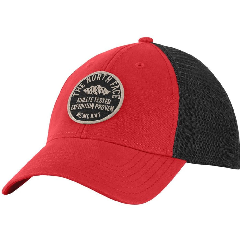 THE NORTH FACE Men's Patches Trucker Hat - POMPEIAN RED