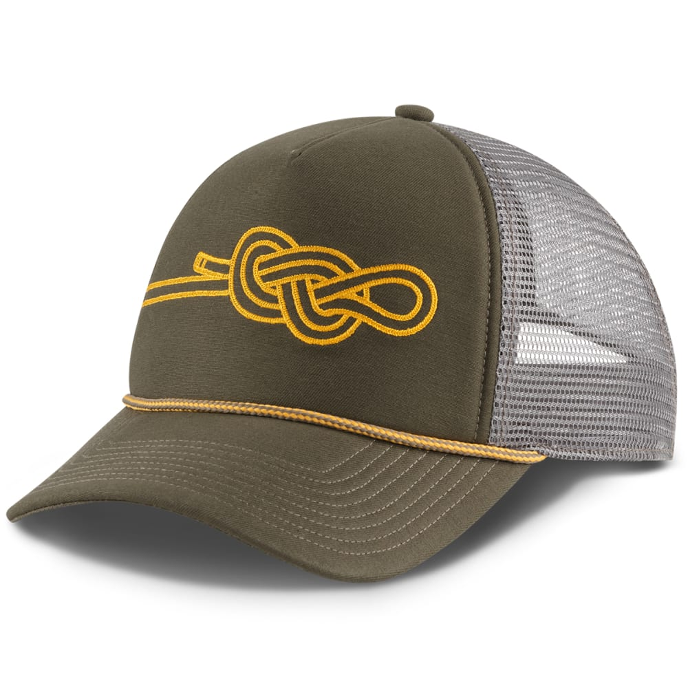 THE NORTH FACE Cross Stitch Trucker Hat - FALCON BROWN-NXL