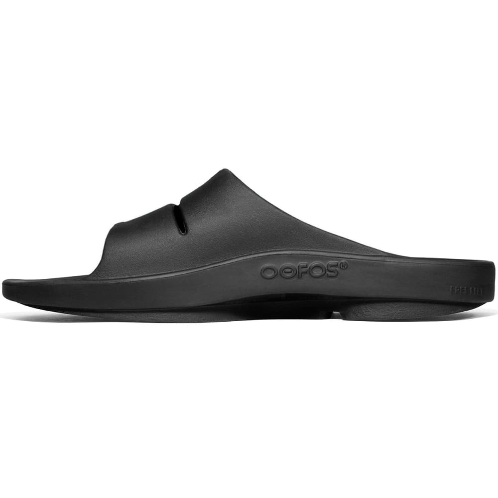 OOFOS OOahh Sport Sandals, Black - BLACK