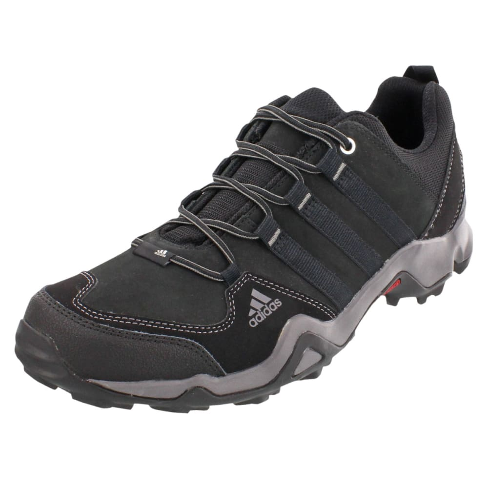 ADIDAS Men's Brushwood Hiking Shoes - BLACK/ BLACK/ GRANIT
