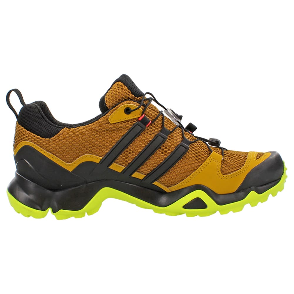 ADIDAS Men's Terrex Swift Running Shoes - GOLD OCHRE/ SOLAR YE