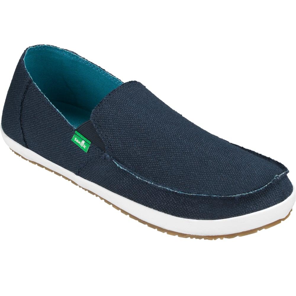 SANUK Men's Rounder Hobo Shoes - DARK NAVY