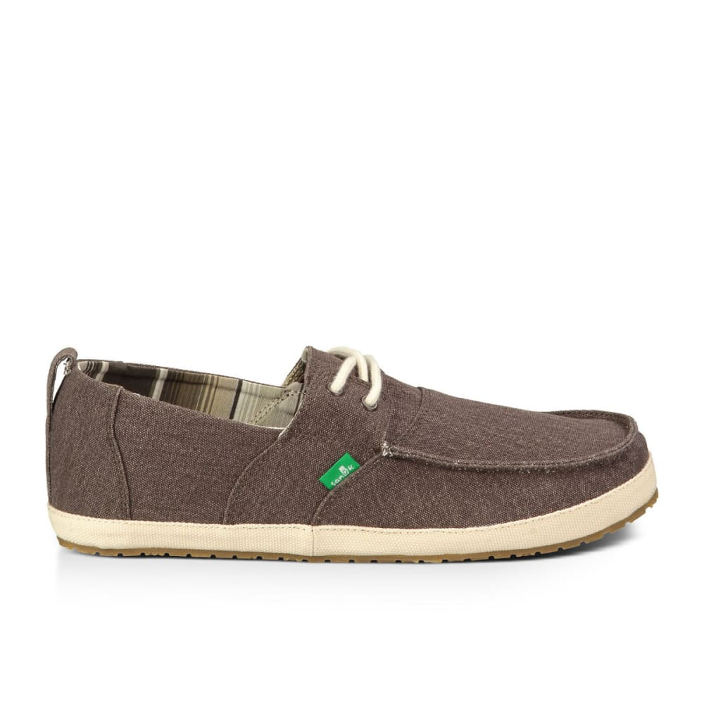 Sanuk Casual Admiral Dark Brown Fashion Shoes Hot Sale Cheapest Price Save Over 50%