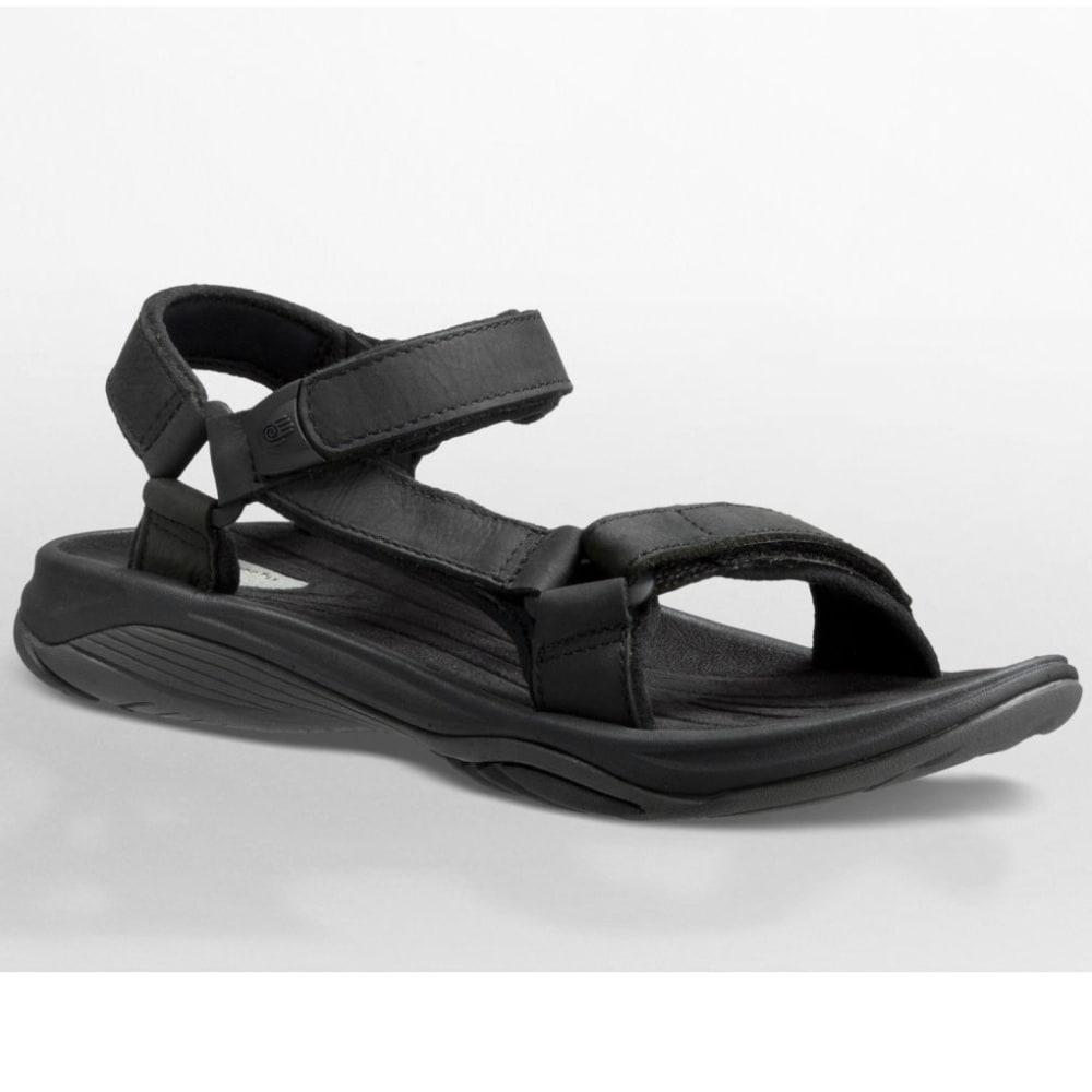 4b356e0e0 TEVA Women  39 s Pretty Rugged Leather 3 Sandals - BLACK