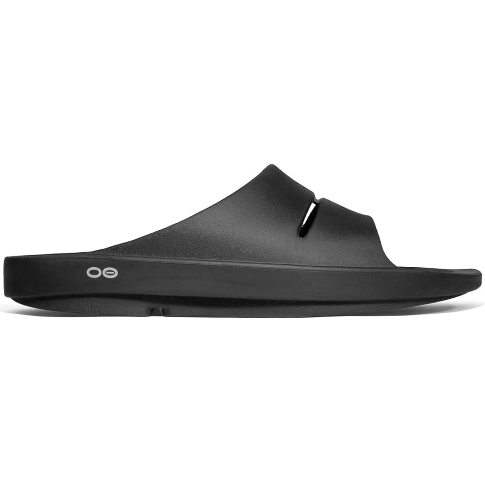OOFOS Women's OOlala Slide Sandals, Black - BLACK