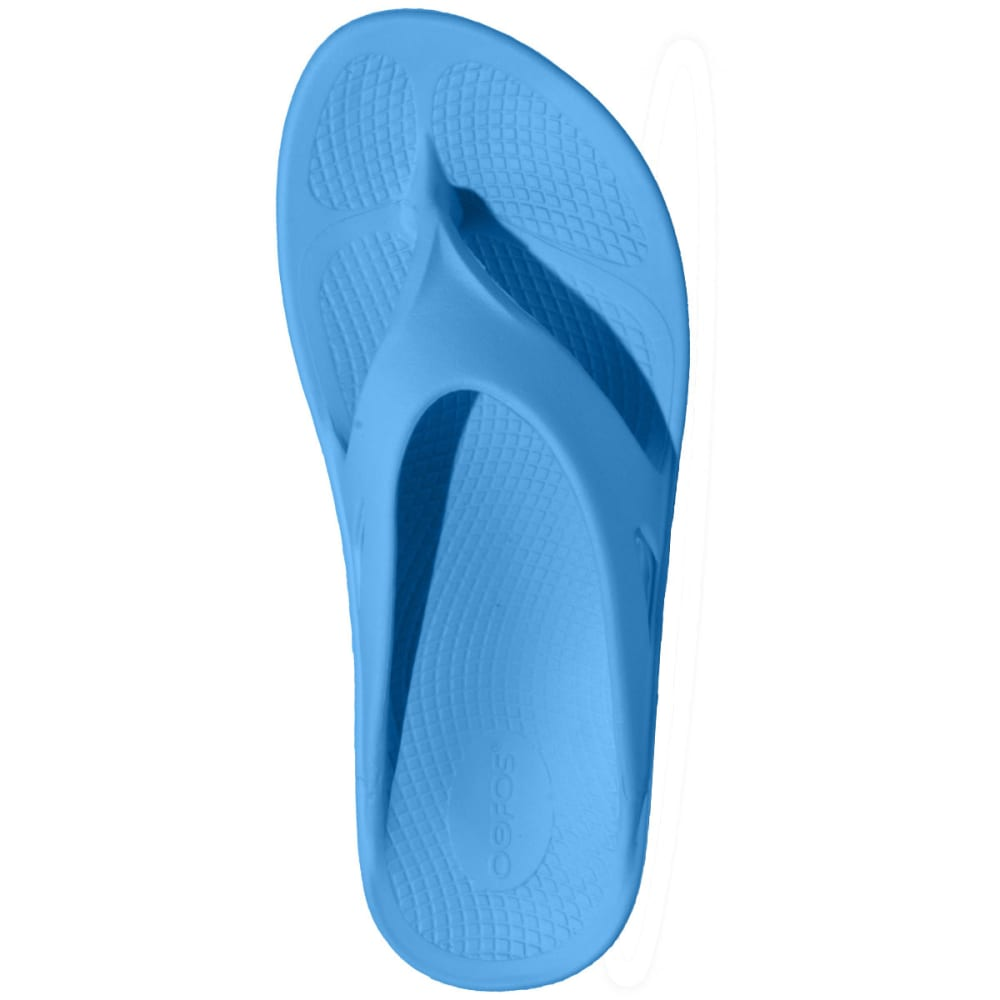 OOFOS Women's OOriginal Thong Sandals, Bermuda Blue - BLUE