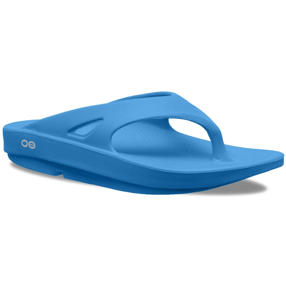 Oofos Women's Ooriginal Thong Sandals, Bermuda Blue - Green