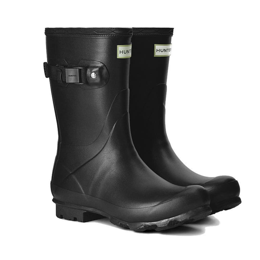 HUNTER Women's Norris Field Short Rain Boots - BLACK