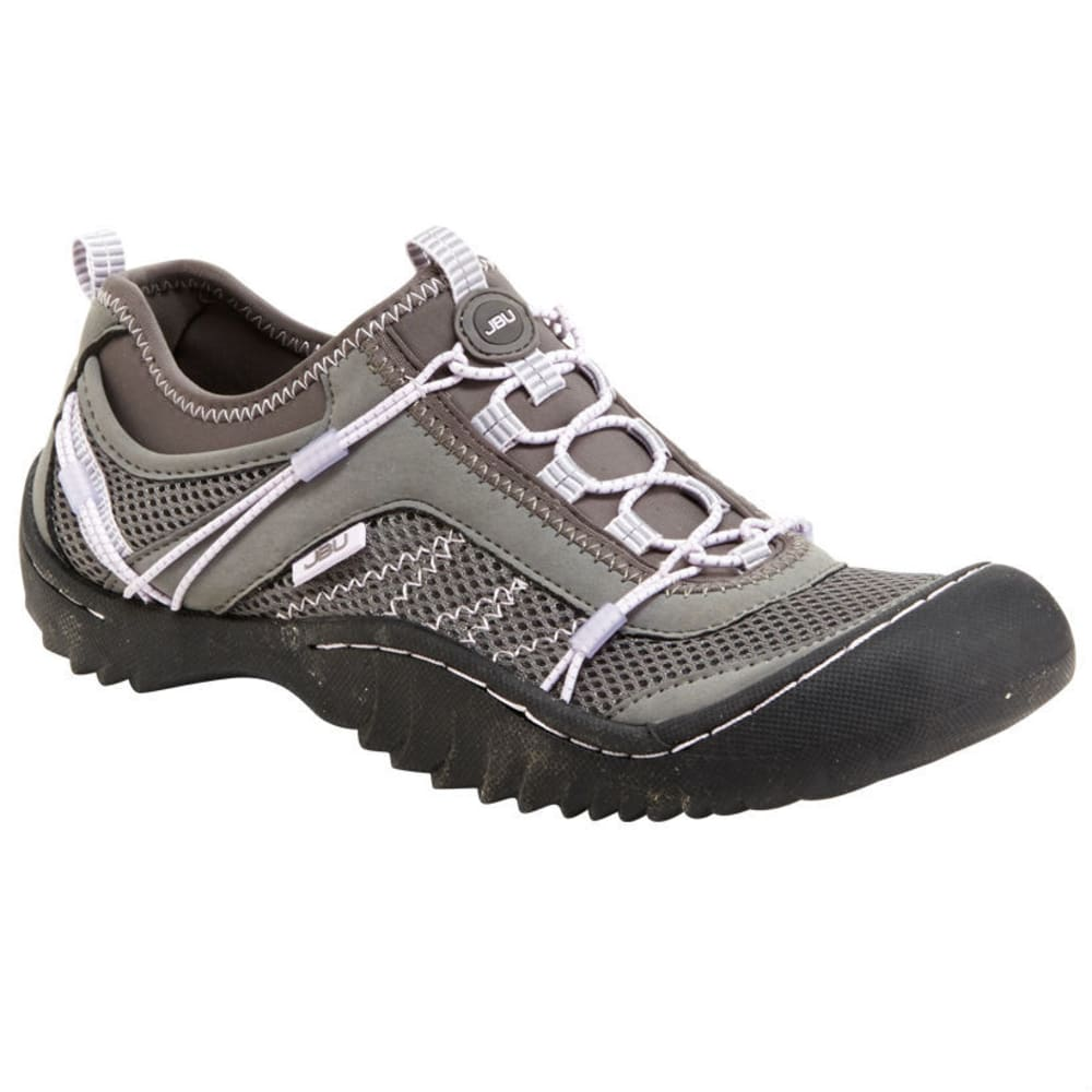 JAMBU Women's Wyoming Shoes, Grey/Orchid - GREY