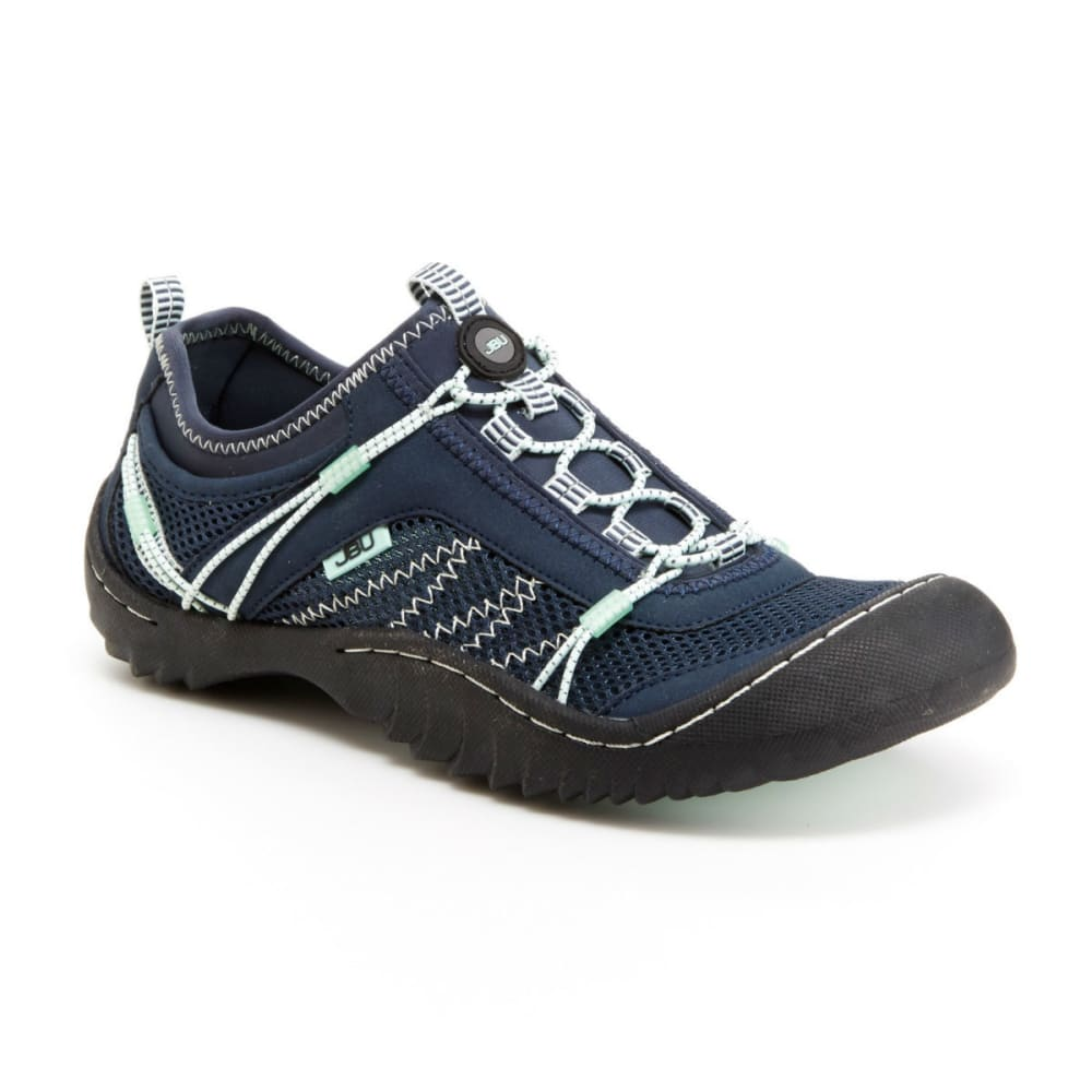 JAMBU Women's Wyoming Shoes, Navy/Jade - NAVY