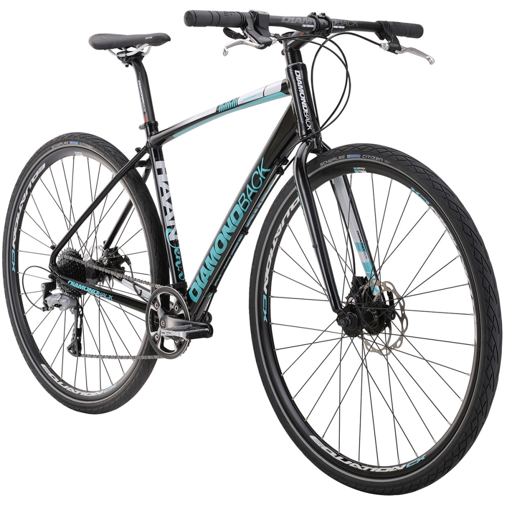 DIAMONDBACK Haanjenn Metro Bicycle - BLACK