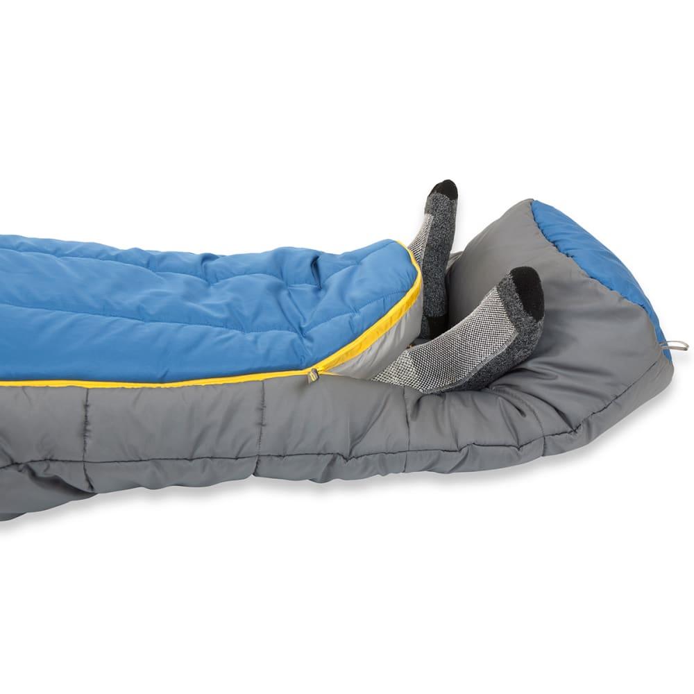 MOUNTAINSMITH Arapaho 20°F Synthetic Sleeping Bag, Short - CHARCOAL GREY