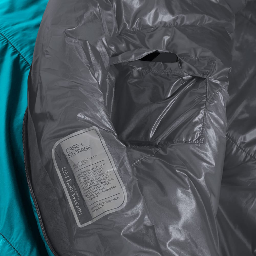 EMS Women's Velocity 35 Degree Mummy Sleeping Bag - SURFWEB/EVERGLADE