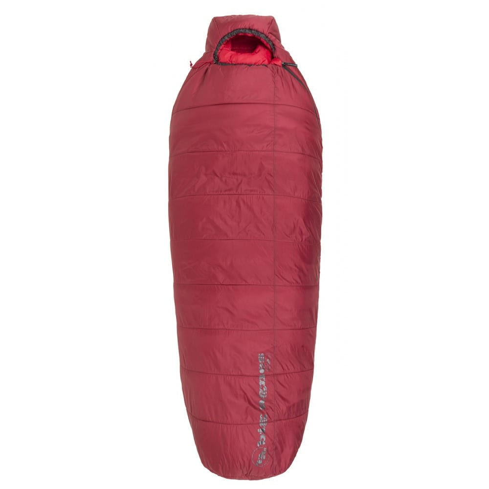 BIG AGNES Gunn Creek 30 Sleeping Bag, Regular - ORANGE/RED
