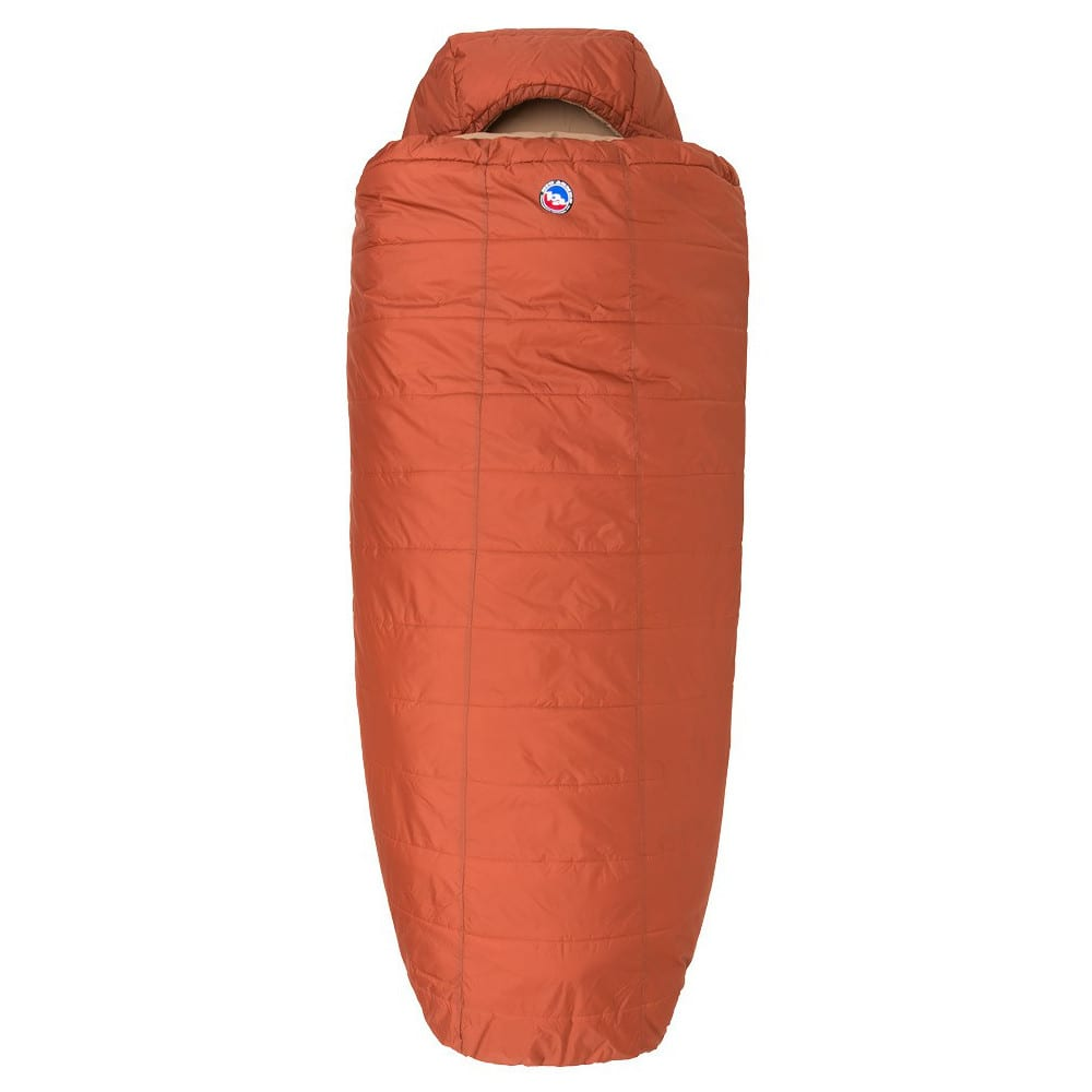 BIG AGNES Hog Park 20 Sleeping Bag, Wide - SPICE