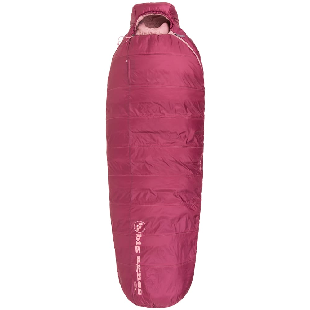 BIG AGNES Women's Slavonia 30 Sleeping Bag, Regular - ROSE