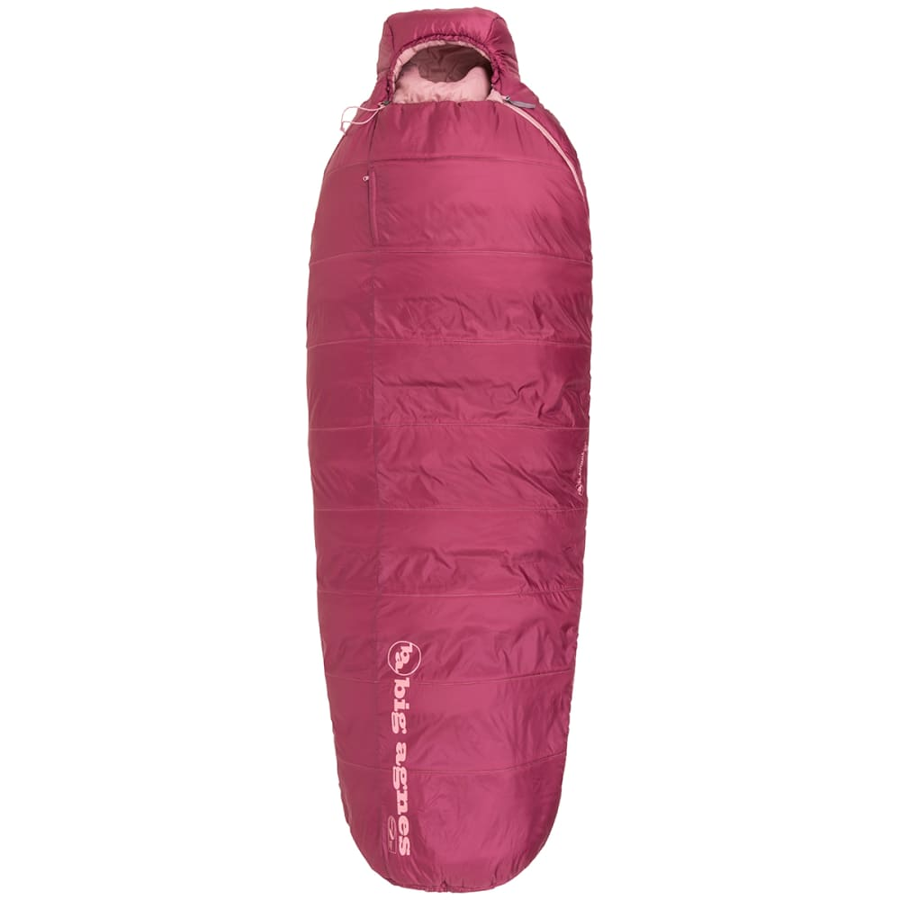 BIG AGNES Women's Slavonia 30 Sleeping Bag, Petite - ROSE